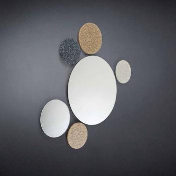Zrcátko Round konstrukce stěna modeno provádí v Itálii Addo