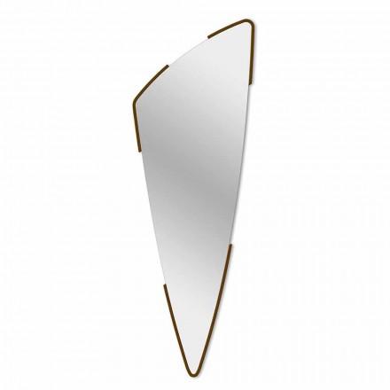 Dekorativní nástěnné zrcadlo Moderní design ve 4 barvách vyrobených v Itálii - Spino