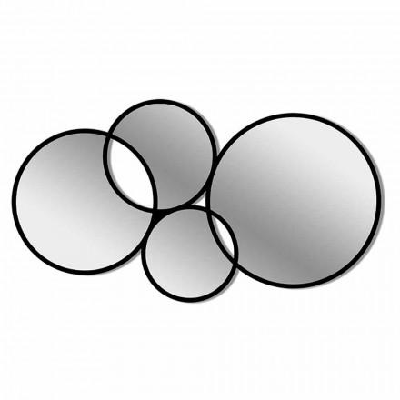Moderní design Nástěnné zrcadlo ve tvaru barevného rámu - syntéza