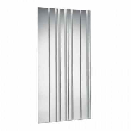 Moderní design obdélníkové nástěnné zrcadlo vyrobené v Itálii - Coriandolo