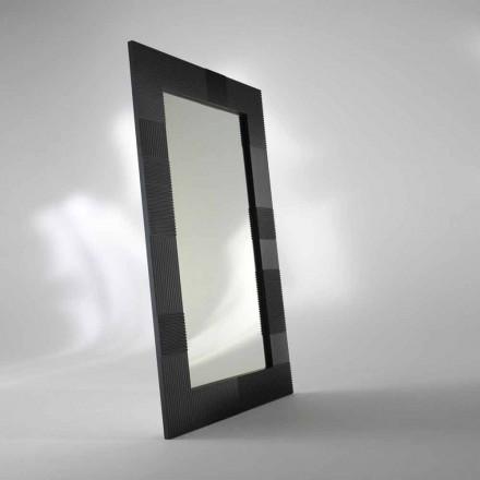 Zrcadlo obdélníkové pozemní Thalia, moderní design