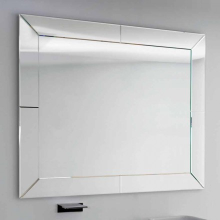 Zrcadlo vázané okraj moderní hřiště, H120 x L120CM, Daedalus