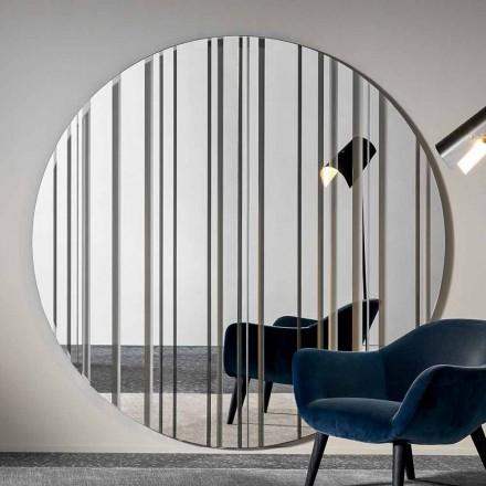 Průměr kulatého zrcadla na zeď 200 cm Vyrobeno v Itálii - Coriandolo