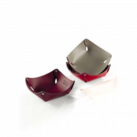 Prázdné kapsy z kůže nebo z regenerované kůže - model Clay