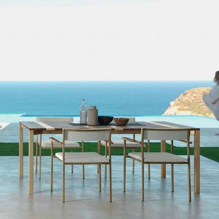 Designový zahradní stůl Talenti Casilda L260xH76cm vyrobený v Itálii