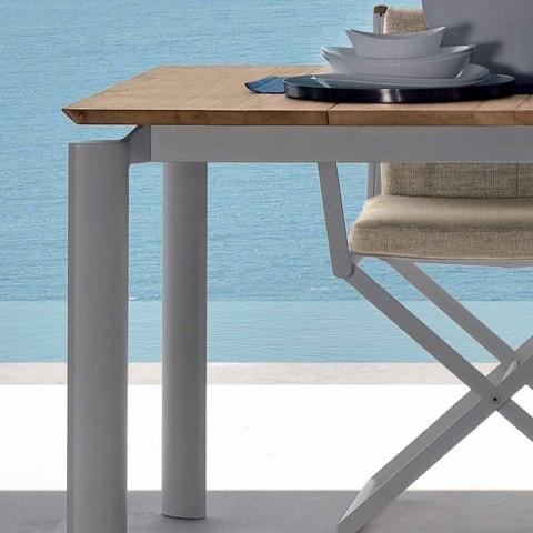 Talenti Domino rozšiřitelný zahradní stůl 200 / 260cm vyrobený v Itálii