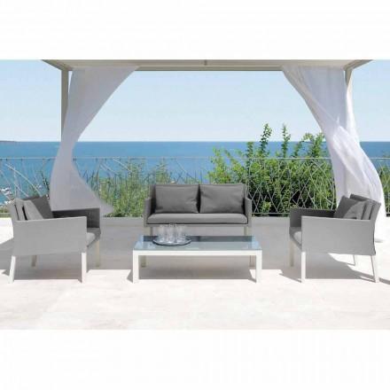 Zahradní salonek Talenti Step moderního designu vyrobený v Itálii