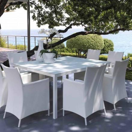 Talenti Touch venkovní stůl 155x155cm vyrobený v italském designu