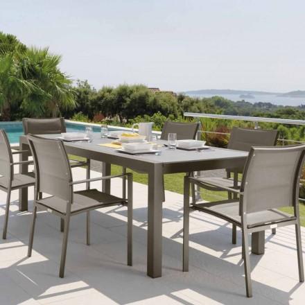Talenti Touch rozšiřitelný venkovní stůl 152 / 225cm vyrobený v Itálii