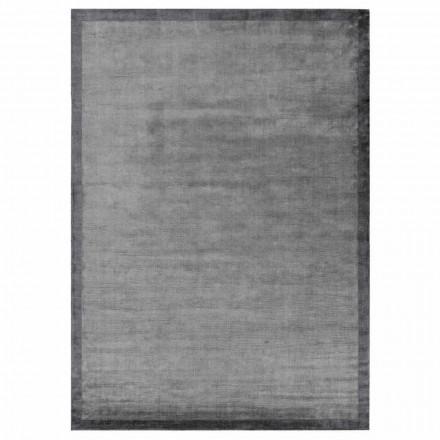 Designový hranatý koberec z bavlny a viskózy pro obývací pokoj - Planetario