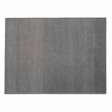 Koberec do obývacího pokoje 100% bavlna s protiskluzovou úpravou, jemný Vyrobeno v Itálii - Mirea