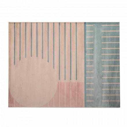 Kvalitní koberec do obývacího pokoje z polyamidu a polyesteru vyrobený v Itálii - Madama