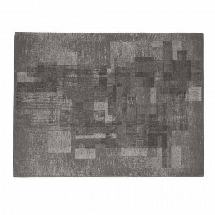 Obývací pokoj koberec z bavlny s protiskluzovým latexem vyrobený v Itálii - Kaila