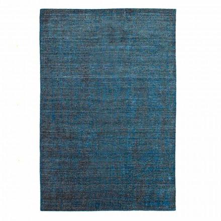 Koberec do obývacího pokoje vyrobený na ručním tkacím stroji z viskózové vlny a bavlny - Cristel