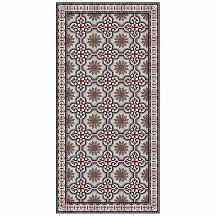 Designový obdélníkový koberec do obývacího pokoje z PVC a polyesteru - Coria