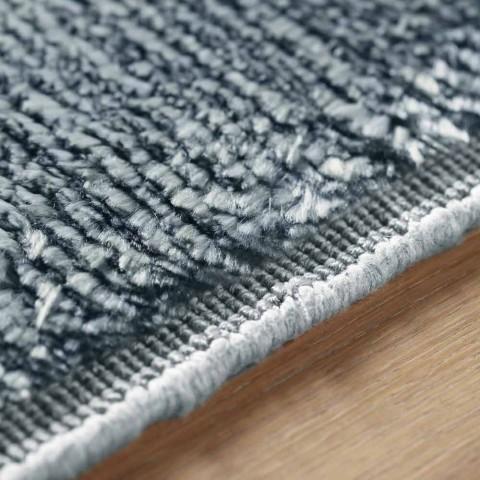 Barevný a moderní designový koberec v hedvábí a bavlně 2 rozměrů - Zefiro