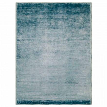 Barevný a moderní designový koberec v bavlně a hedvábí 2 - Zefiro