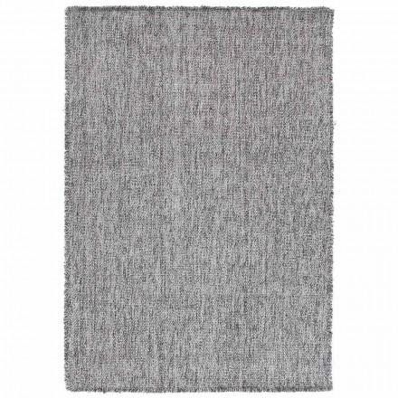 Moderní design Big Fringing Carpet v černé nebo krémové vlně - Jacqueline