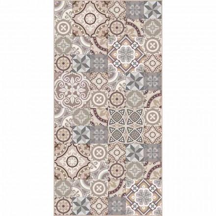 Designový obdélníkový vinylový koberec - Malia