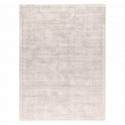 Přizpůsobitelný univerzální designový koberec z viskózy a bavlny - mutter