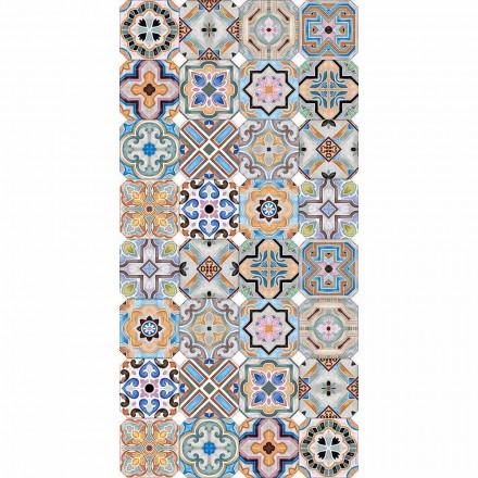 Moderní koberec s barevnou majolikou ve vinylu pro obývací pokoj - Calor