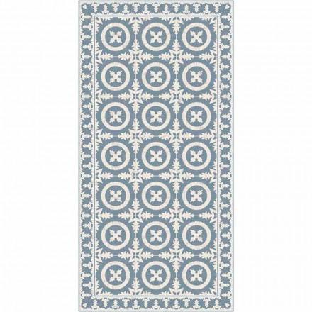 Moderní obývací pokoj koberec v béžové nebo modré fantasy vinyl - Bondo
