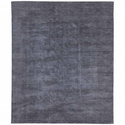 Velký a barevný koberec s pruhovaným a moderním designem do obývacího pokoje - Prickle