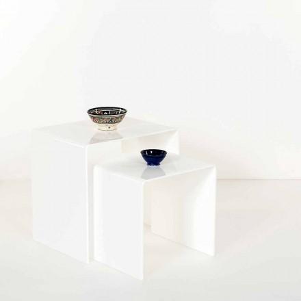 Designové stoly v barevném plexisklu vyrobené v Itálii, Spinoso