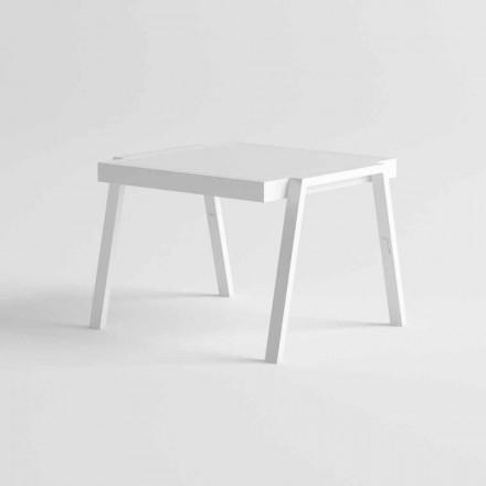 Moderní venkovní konferenční stolek v hliníku a HPL - Carmine2