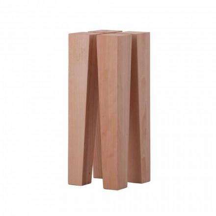 Nízký konferenční stolek v bukovém dřevě - Roncone