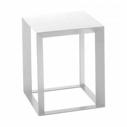 Kovový konferenční stolek se čtvercovým designem 2 rozměry - Josyane