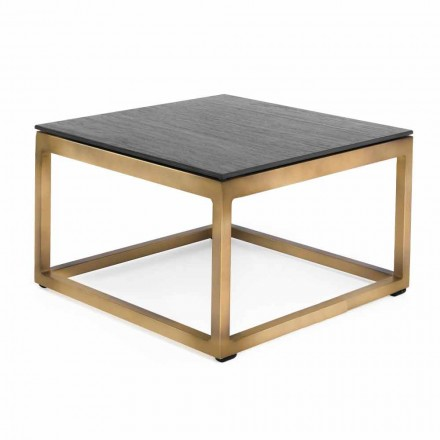 Čtvercový designový boční stolek 2 Rozměry 3 Povrchové úpravy - Julie