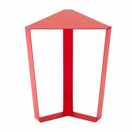 Barevný kovový konferenční stolek vyrobený v Itálii - Yasmine