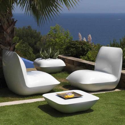 Venkovní konferenční stolek Polštář Vondom, moderní design 67x67 cm