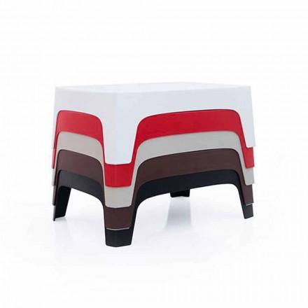 Venkovní konferenční stolek Solidní kolekce Vondom v polypropylenu