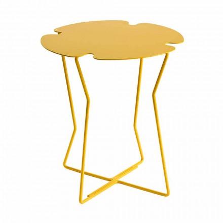 Konferenční stolek do obývacího pokoje z kovu, design různých barev - Kathrin