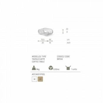 Breez moderní design venkovní stůl, bílý nebo taupe