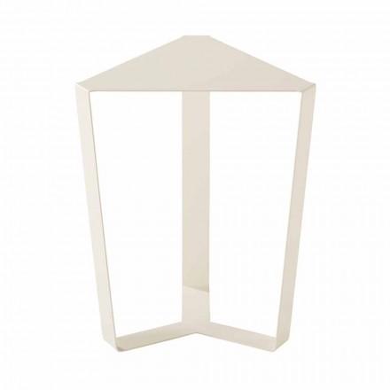 Venkovní kovový konferenční stolek různých barev, moderní italský design - Yasmine