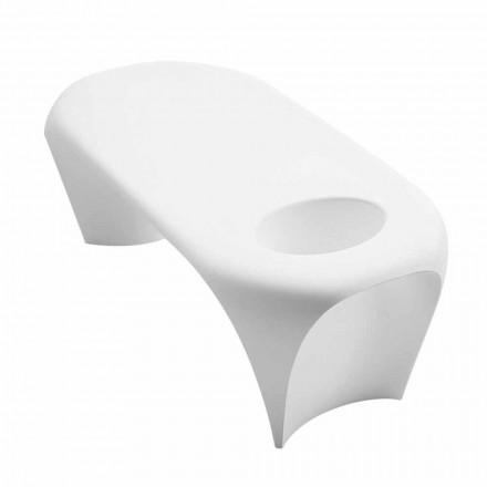 Venkovní nebo vnitřní konferenční stolek se Spumantierou, dvoudílný design - Lily od Myyour