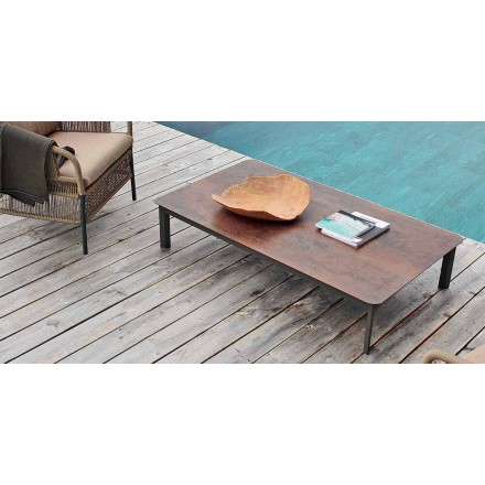 Varaschin systém venkovní designový stůl z lakovaného hliníku