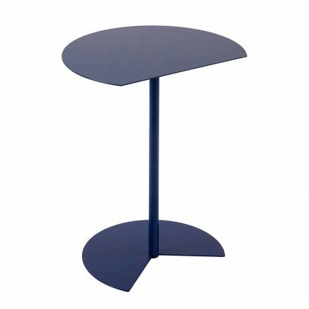 Moderní designový barevný kovový zahradní konferenční stolek ve 3 velikostech - Cettina