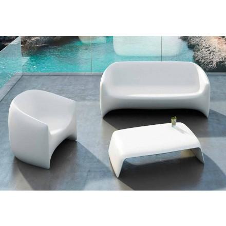Zahradní konferenční stolek z polyethylenu Blow Vondom, moderní design