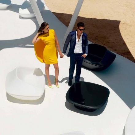 Moderní zahradní stolek 100x100 cm Ufo by Vondom, z polyethylenu