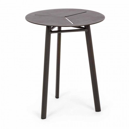 Kulatý zahradní stůl z hliníku designu Homemotion - Nigerio