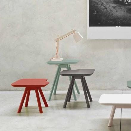 Vysoce kvalitní konferenční stolek z masivního popela vyrobený v Itálii - Ulm
