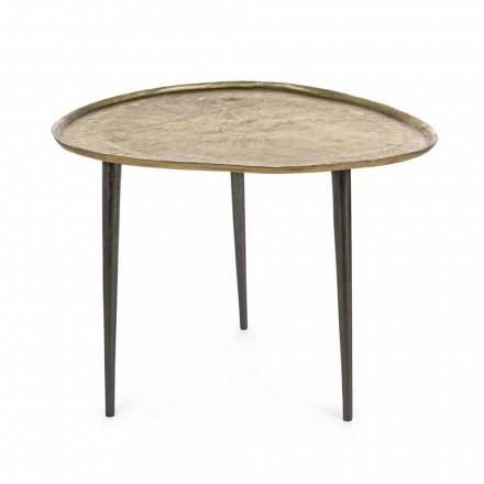 Designový konferenční stolek Homemotion s hliníkovou deskou - Yamila
