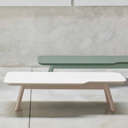 Vzácný konferenční stolek z masivního jasanového dřeva vyrobený v Itálii - Ulm