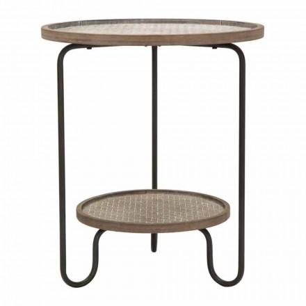Moderní design kulatý žehlička a MDF konferenční stolek - Luther