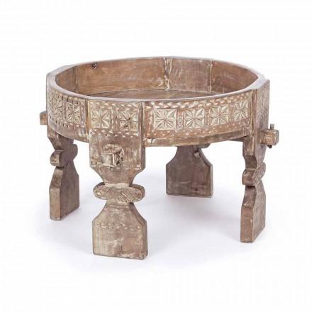 Konferenční stolek Homemotion v rustikálním stylu v mangovém dřevě - Sania