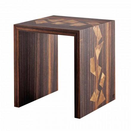 Grilli Zarafa Designový konferenční stolek z ebenového dřeva vyrobený v Itálii